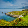 Europe - Ireland - Éire - Airlann - Airlan - County Galway - Connemara - Chonamara - Connemara Loop - Beautiful unspoilt coastal area with great views and white expanses of sand and turquoise water