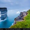 Europe - Ireland - Éire - Airlann - Airlan - County Mayo - Downpatrick Head - High cliffs area along the shore of Atlantic Ocean - Dun Briste - Impressive sea-stack