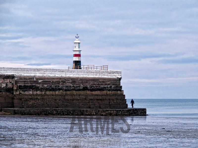 Lighthouse on West Quay, Ramsey, Isle of Man