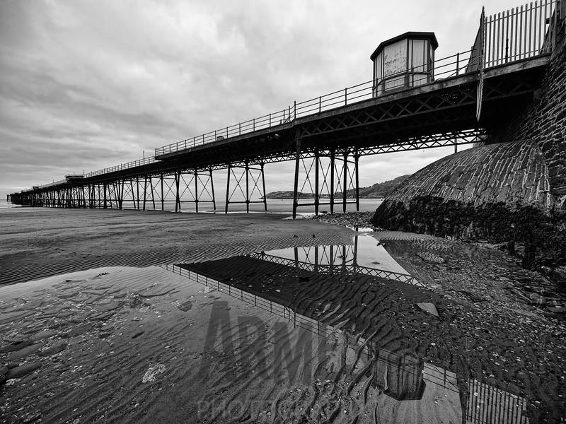 Queen's Pier (built 1886, now derelict), Ramsey, Isle of Man