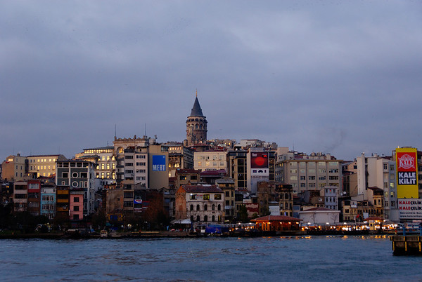 Beyoglu/Galata as viewed from Sultanahmet
