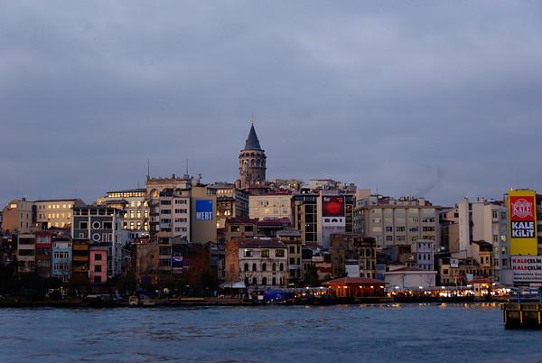 Beyoglu/Galata as viewed from Sultanahmet