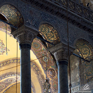Ayasofya - detail of the capitals