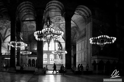 Ayasofya - and the tourists