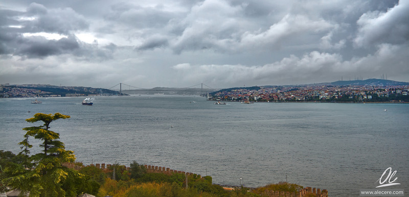Storm Over the Bosphorus