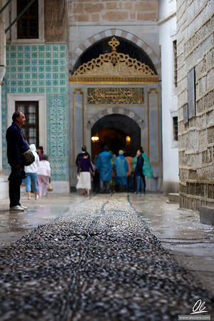 Entrance of the Harem of Topkapı Sarayı