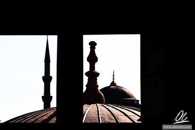From an high window of Ayasofya