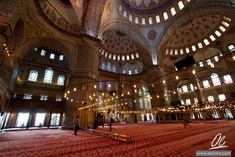 Sultanahmet Camii (Blue Mosque) - Just after the mid-afternoon prayer