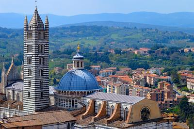 Vista di Siena