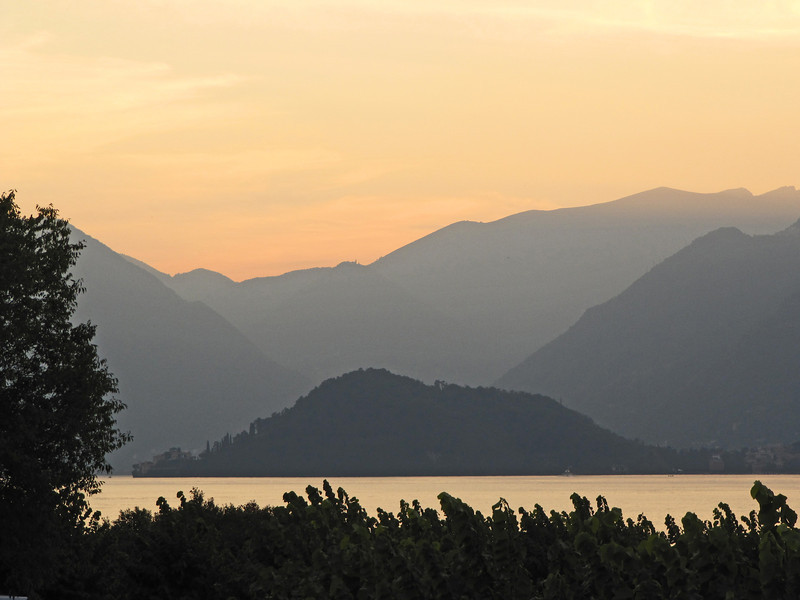 Bellagio sunset