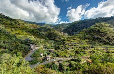 Trail #6, Manarola to Volastra, Cinque Terre, Italy