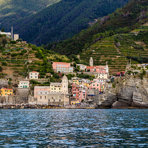 Vernazza from the Sea