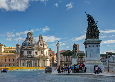 Statues and Domes