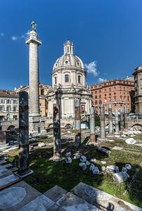 Column of Trajan, Roman Forum