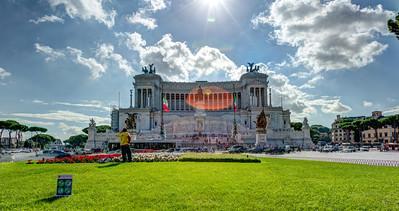 Monument to Vittoria Emanuele II