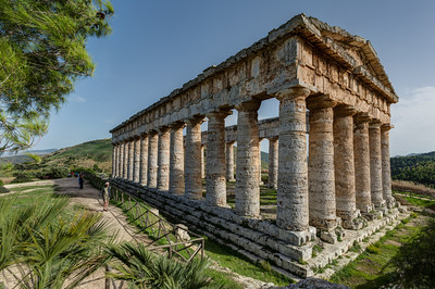 The Doric Temple of Segesta