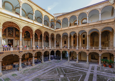 Palatine Chapel, Palermo, Sicily, Italy