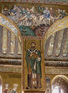 Mosaic of St. Augustine