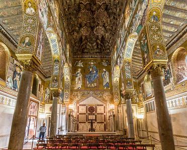 The Mosaic-laden Interior