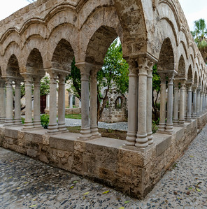 Cloister, Palermo, Sicily, Italy