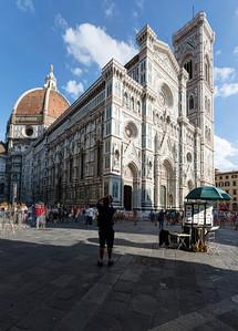 Cathedral of Santa Maira del Fiore, Firenze, Tuscany, Italy