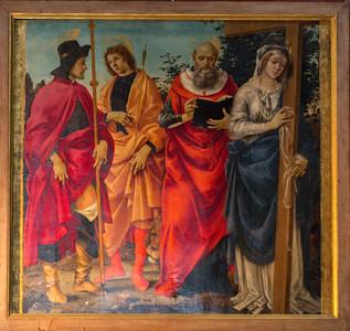Botticellli's Saints