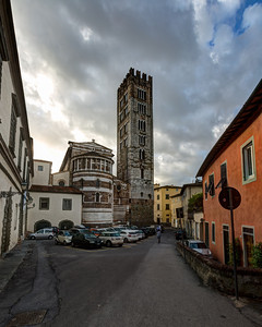 San Frediano, Lucca, Tuscany, Italy