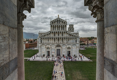 Duomo viewed from the Baptistry