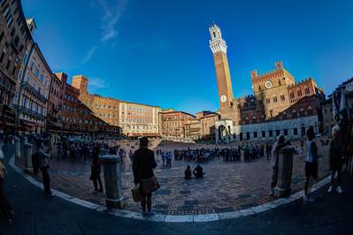 Palazzo Pubblico and the Piazza del Campo