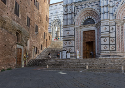 Baptistry and Stairway to the Duomo