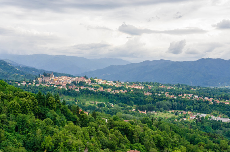 The Town of Barga