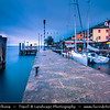 Europe - Italy - Italia - Alps - Veneto Region - Province of Verona - Lake Garda - Lago di Garda - Brenzone sul Garda - Castelletto - Small fishing village on eastern shore of Lake Garda
