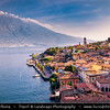 Europe - Italy - Italia - Alps - Lombardy region - Province of Brescia - Limone sul Garda - Picturesque village on shore of Lake Garda - Lago di Garda