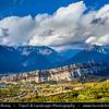 Europe - Italy - Italia - Alps - Lake Garda - Lago di Garda - Parco dell'Alto Garda Bresciano - Spectacular Alpine mountains
