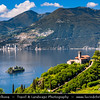 Europe - Italy - Italia - Alps - Lombardy Region - Bergamo Province - Lake Iseo - Lago d'Iseo - Marone - Church Eremo di San Pietro - Chiesa Di San Pietro Marone