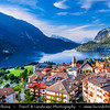Europe - Italy - Italia - Alps - Trentino Province - Molveno lake - Lago di Molveno - Molveno - Charming Alpine village at foot of the Brenta Group & Paganella mountain