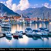 Italy - Italia - Alps - Alpine Lake Maggiore - Lago Maggiore - Second largest lake in Italy - Feriolo di Baveno
