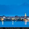 Italy - Italia - Alps - Alpine Lake Maggiore - Lago Maggiore - Second largest lake in Italy - Borromean Islands - Isola dei Pescatori - Fishermen's Island