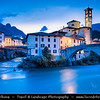 Europe - Italy - Italia - Alps - Lombardy Region - Bergamo Province - San Giovanni Bianco - Historical town on shores of Brembo river located in Val Brembana