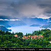 Europe - Italy - Italia - Alps - Lombardy region - Province of Lecco - Varenna - Picturesque village on eastern shore of Lake Como