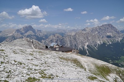 Ra Valles station, near Cortina d'Ampezzo