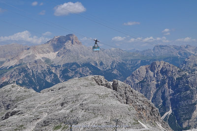 Cable car to Ra Valles, 2600m (Tofana peak)