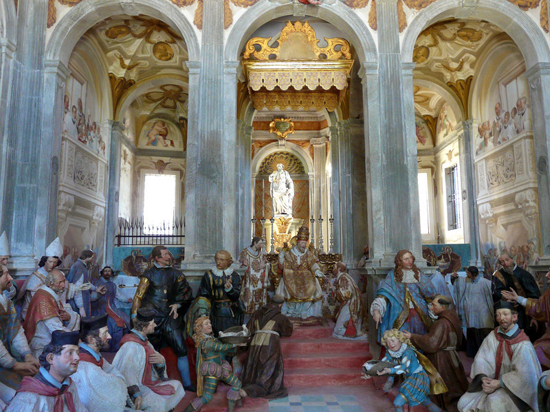 A visit to the Sacro Monte is worh a trip to Orta San Giulio, Italy.