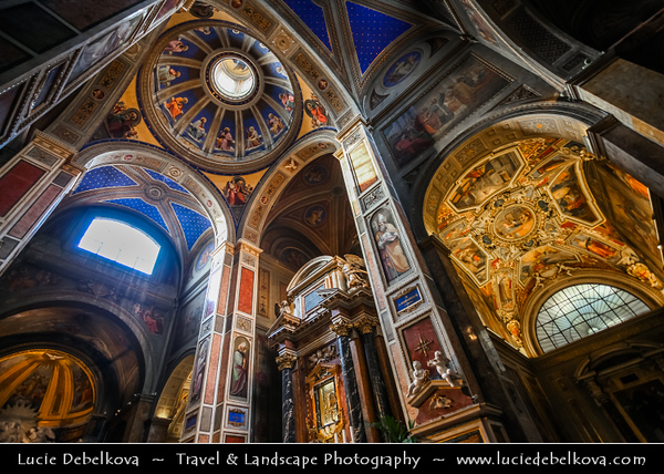 Europe - Italy - Italia - Rome - Roma - Basilica di Sant'Agostino - Church not far from Piazza Navona - One of the first Roman churches built during the Renaissance