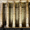 Europe - Italy - Italia - Rome - Roma - Piazza di Pietra - Temple of Hadrian - Tempio di Adriano - Surviving side of eleven of 15-metre-high Corinthian columns from external colonnade