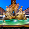 Europe - Italy - Italia - Rome - Roma - Piazza Navona - Highly s