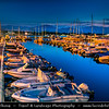 Europe - Italy - Italia - Sardinia - Italian island in Mediterranean Sea - Province of Ogliastra - Arbatax - Fishing town located at foot of mountain slope of Capo Bellavista in eastern part of Sardinia
