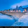 Europe - Italy - Italia - Sardinia - Italian island in Mediterranean Sea - Alghero - Historical town with ancient city walls