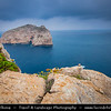 Europe - Italy - Italia - Sardinia - Italian island in Mediterranean Sea - Province of Sassari - Capo Caccia - Rocky outcrop with scenic hiking routes, diving sites & caverns with archaeological remains
