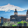 Italy - Italia - Sicily - Sicilia - Province of Catania - Randazzo - Small town situated at the northern foot of Mount Etna, nearest town to the summit of Etna - Church of Santa Maria